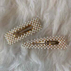 Parel Haarspelden – Goud